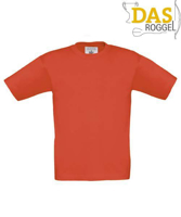 T-Shirt B&C 190 Kids Sunset Orange