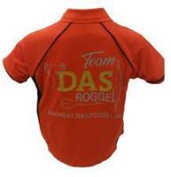 DAS Shirt Darts Rood-Zwart