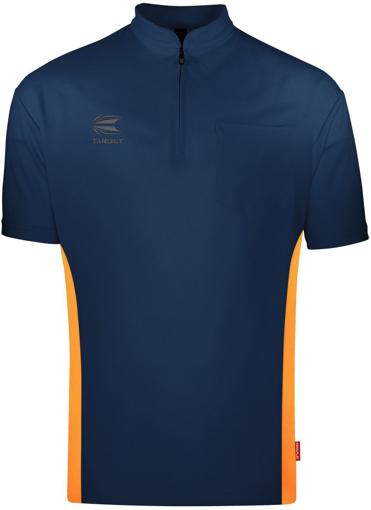 Afbeelding van Target Coolplay Collarless Dark Blue Orange