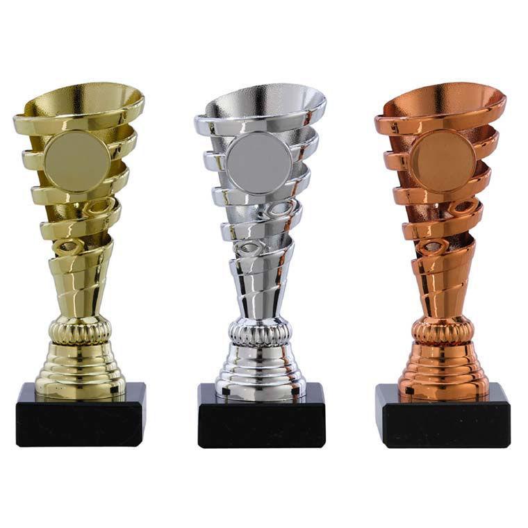 Bild von Pokal Ständer Serie A1076 Gold-Silber-Bronze