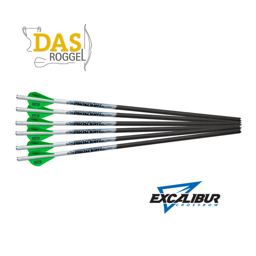 Excalibur Proflight Carbon Pijlen  18 Inch for Matrix 6-Pack Kruisboog pijlen