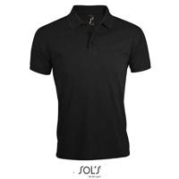 Afbeeldingen van Sol's Men's Polo Shirt Prime Black