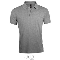 Afbeeldingen van Sol's Men's Polo Shirt Prime Grey Melange